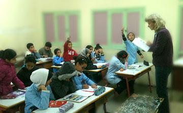 Programa de Voluntarios de la Enseñanza en Marruecos Rabat