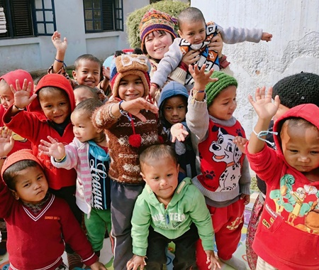 Orphanage  Volunteer Program in Nepal