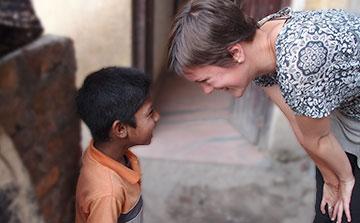 Programa de voluntários de orfanatos no Nepal