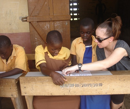 Volunteer Teaching in Ghana
