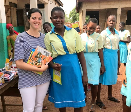Volunteer Girls Teaching Program Ghana