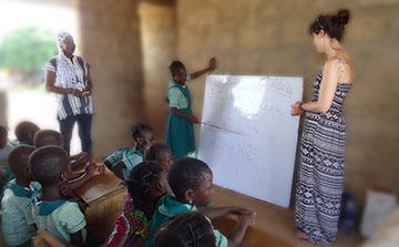 Programa de Ensino de Meninas Voluntárias Gana