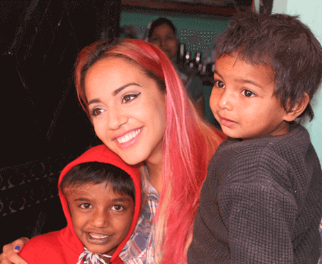 Street Children Volunteer Program Delhi - India