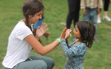 Programa de Voluntariado para Crianças da Rua Delhi - Índia