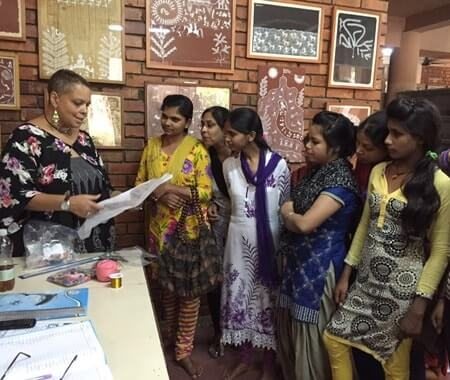 Women Empowerment Volunteer Program Delhi - India