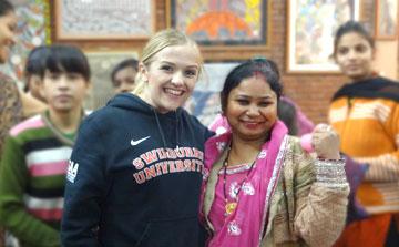 Programa Voluntário de Empoderamento das Mulheres Delhi - Índia