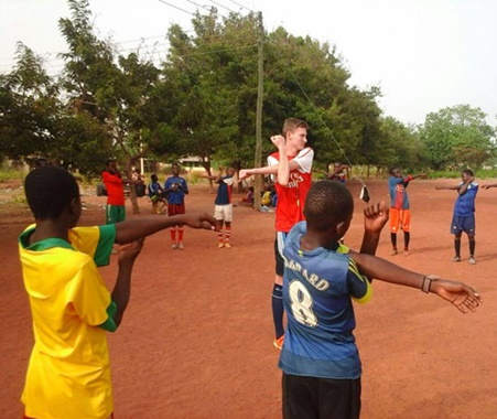 Sports Volunteering in Ghana | Football Coaching