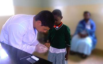 Voluntariado médico em Uganda