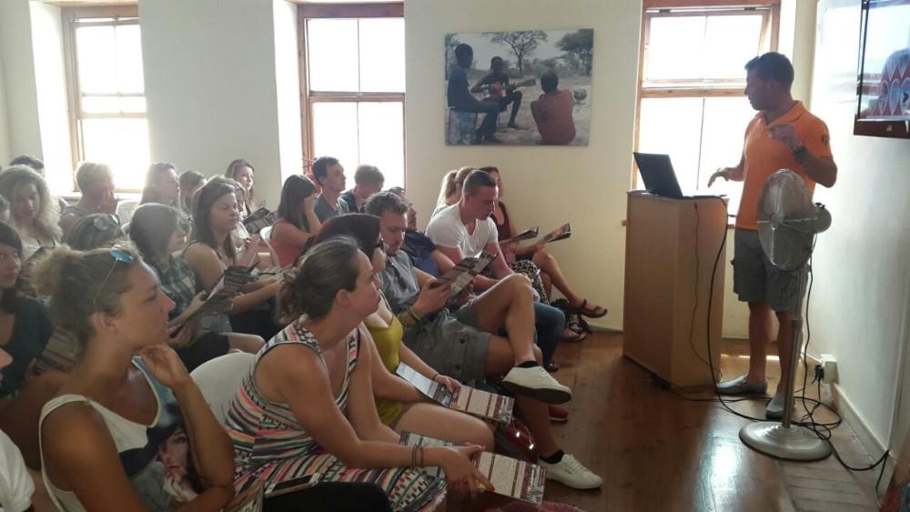 Language orientation of volunteering solutions volunteers in Cape town