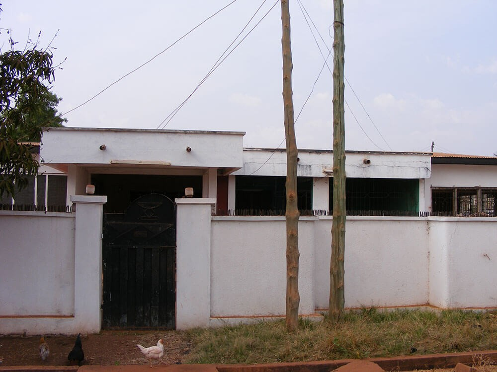 Exterior view of the Volunteer Accommodation in Tamale