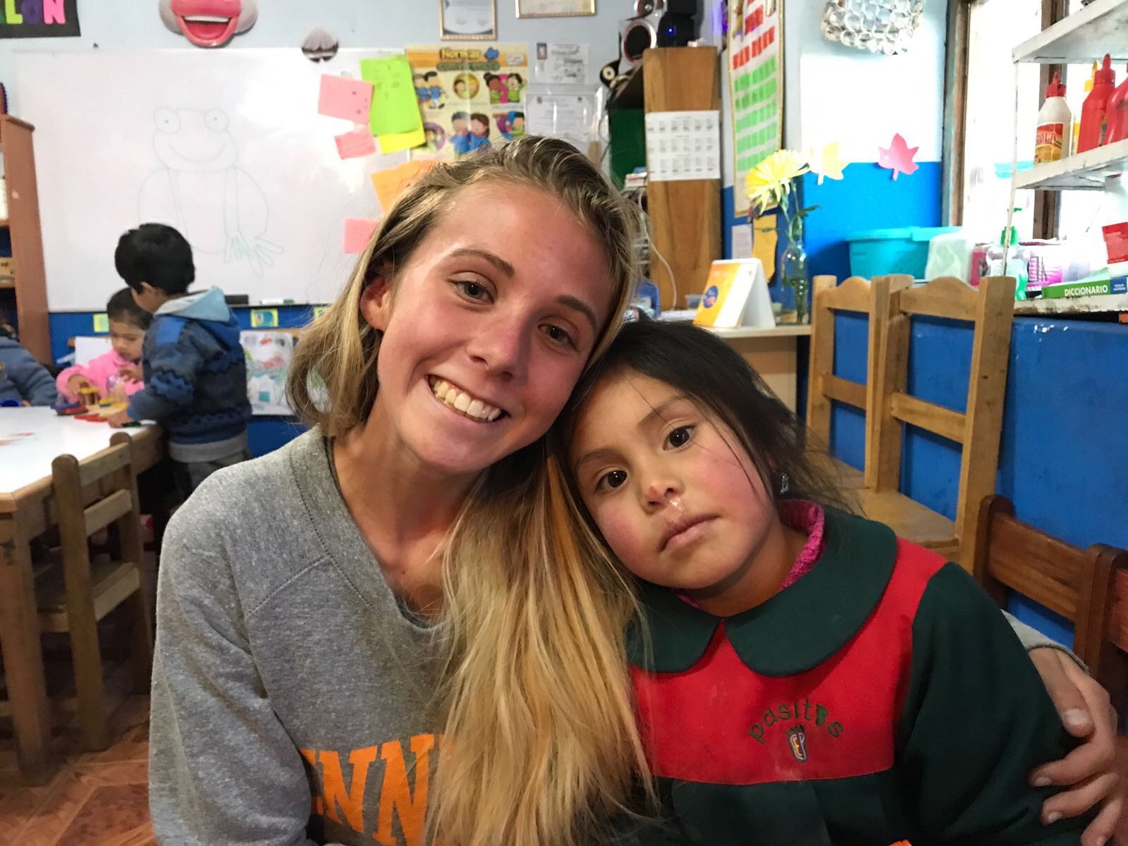 Volunteer Experience by Niamh Schumacher about Volunteering in Peru.
