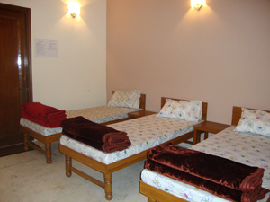 Volunteers Room in Volunteer House in Delhi