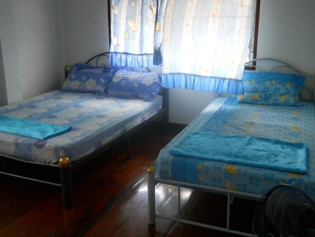 Typical room in volunteer flat in Surin