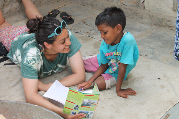 volunteer-in-India