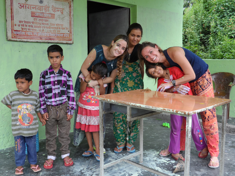 volunteering in India- palampur with volunteering solutions