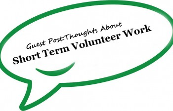 Guest Post Volunteering Experience