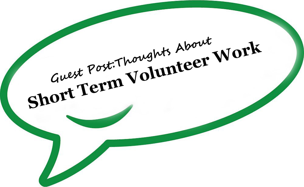 My Short Term Volunteering Experience – Jamie Stech