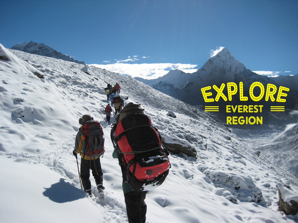 Trekking-on-Everest in Nepal
