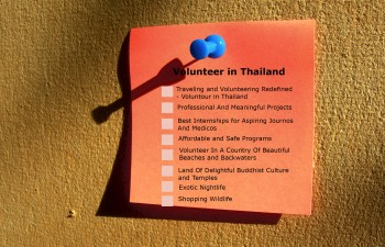 volunteer-in-thailand-checklist