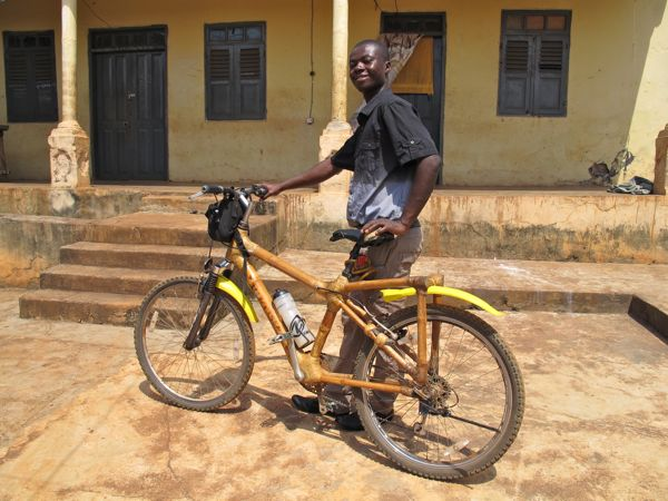 bicycle rides in ghana