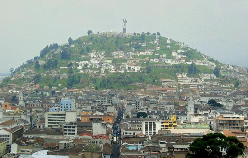 Cerro Panecillo, Quito ecuador