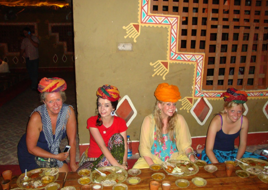 Taste Indian food