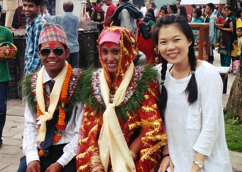 traditional wear in Nepal