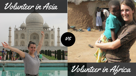 Volunteering In Asia VS Volunteering In Africa – A Study By VolSol