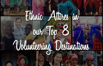 ethnic-wear in top 8 volunteering destinations