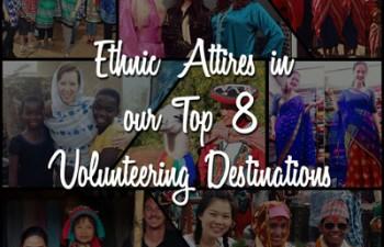 ethnic-wear in top 8 volunteering destinations