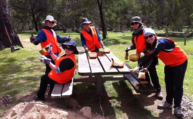 group volunteering abroad