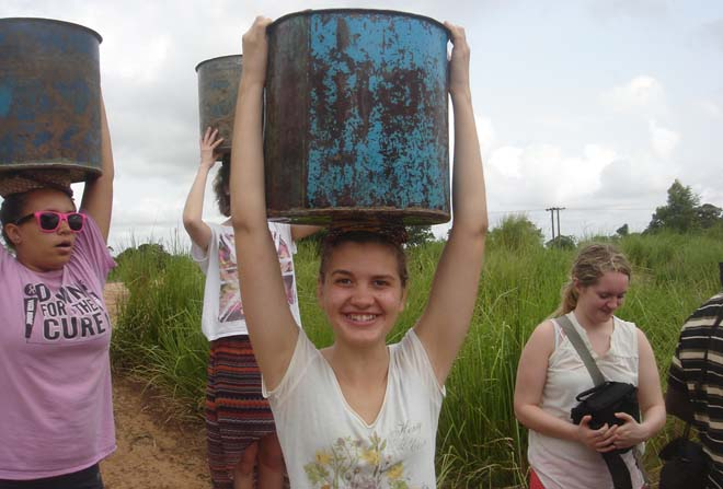 volunteer work in Ghana with volsol