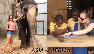 Volunteering in Asia vs Volunteering in Africa – A Study by Volunteering Solutions