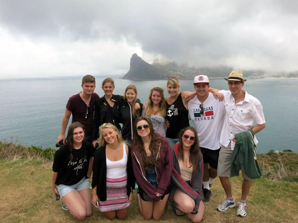 weekend travel by volunteers in south africa