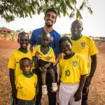 sports volunteering in Ghana