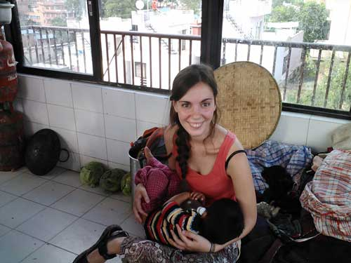 volunteer-work-in-Nepal with VolSol