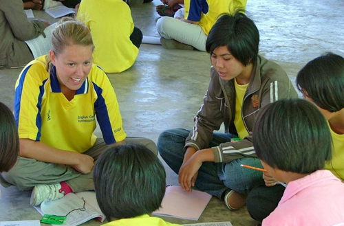 Teaching-english-volunteer-work