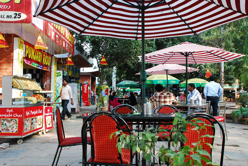 Food Stalls In Dilli Haat