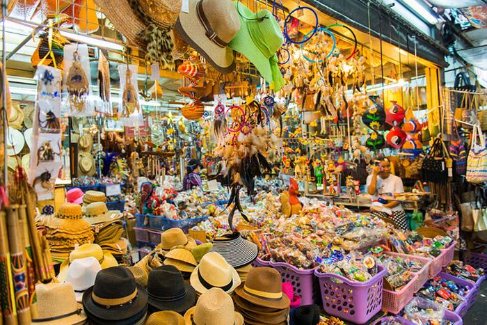 Chatuchak Market in Bangkok (Thailand)