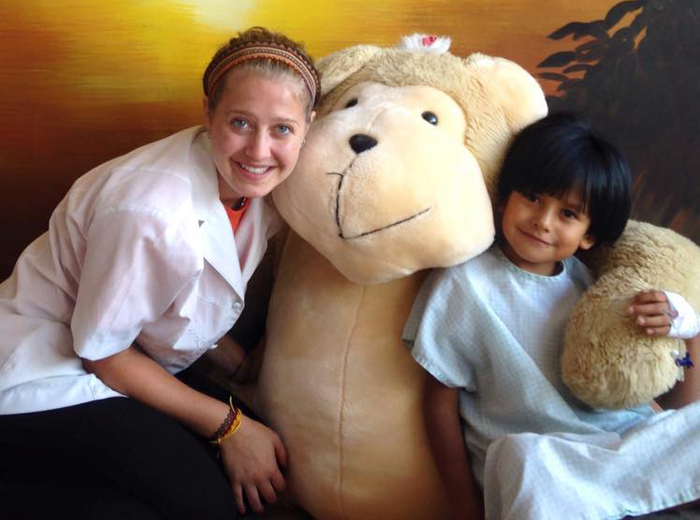 Childcare volunteering in Quito Ecuador