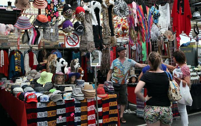 Queen Victoria Market in Melbourne (Australia)