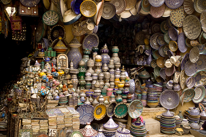 Souk of Fez (Morocco)