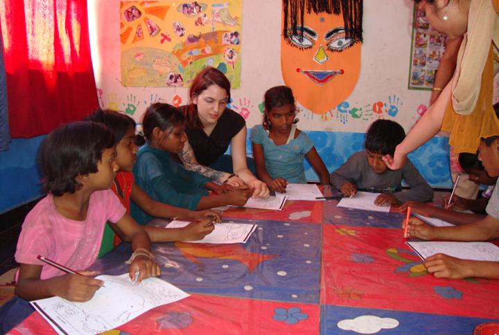 Volunteer teaching work with volsol