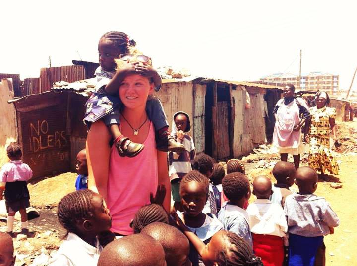 Work in street children volunteer program