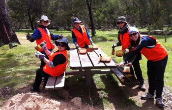 volunteer conservation program in Australia