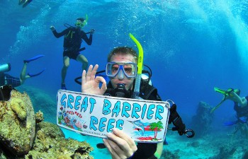 great-barrier-reef-diving in Australia