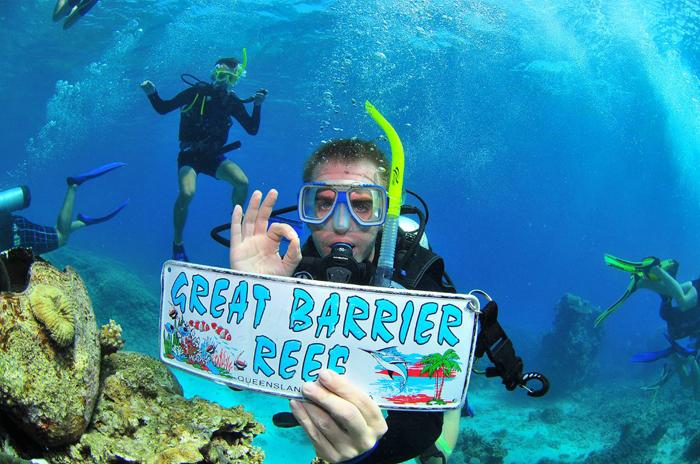great-barrier-reef-diving in Australia
