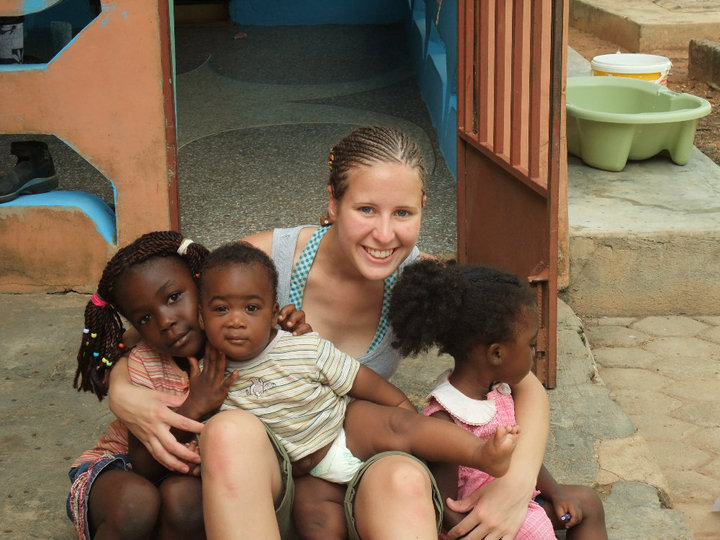 Childcare volunteer abroad project with volunteering solutions