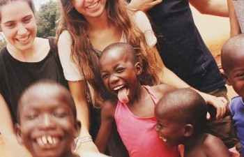Isa Torrellas Darvas volunteer in Orphanage Program Ghana