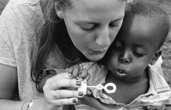childcare volunteering in Africa